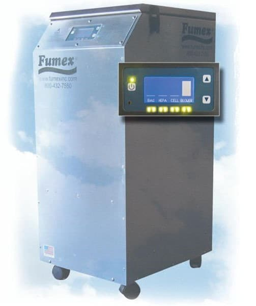 Laser Fume Extractors for Laser Engraving & Marking